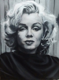 Marilyn Monroe SOLD 24x18