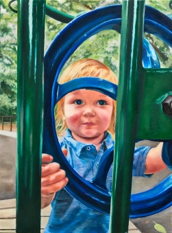 Playgroud SOLD 24x20